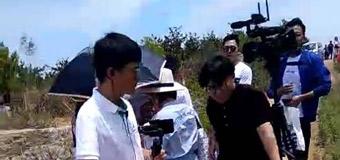 网红大樱桃现场直播烟台东黄山村绿客果园