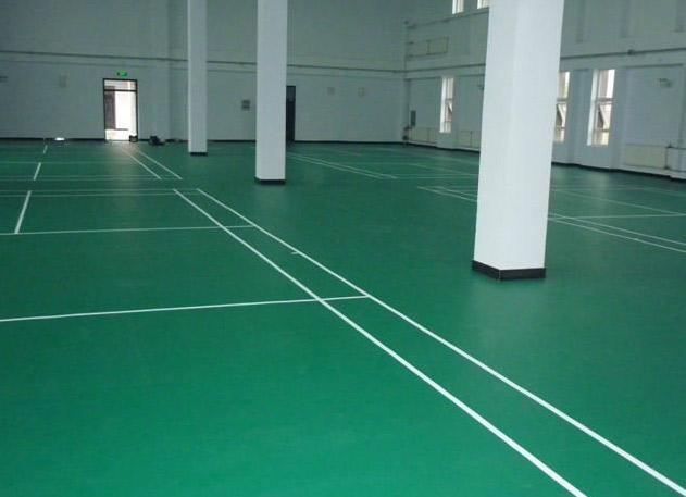 烟台pvc运动地板工程施工价格