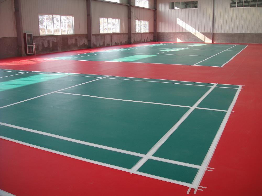 烟台pvc运动地板工程施工