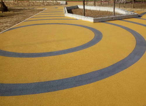 烟台彩色防滑路面有哪些及材料的选择